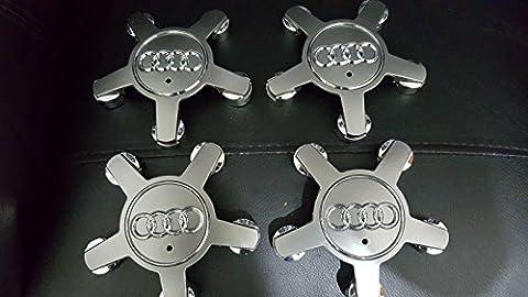 Lot de 4cache-moyeu en alliage pour Audi A4S4A3S3A5A6A8R8V10 Forme