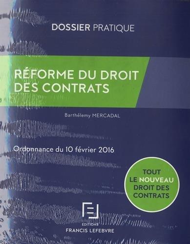 Pack Mémento Droit commercial 2016 + Réforme du droit des contrats