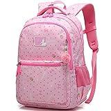 Jungen Mädchen Schulrucksäcke Kinder Rucksack Schultasche Jungs Damen Laptop Tasche Schule Rucksack (Rosa)
