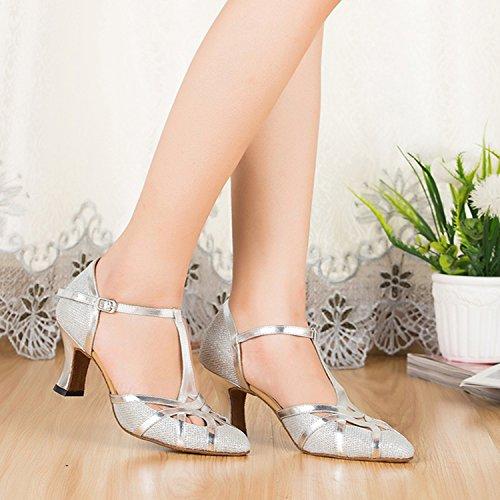 pour Chine Minitoo homme La GlitterSilver Chaussures de De danse wzgq6HWP