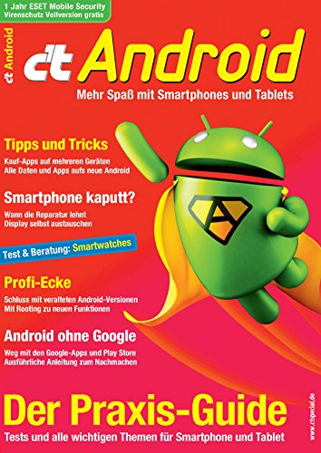 c\'t Android 2015: Der Praxis-Guide
