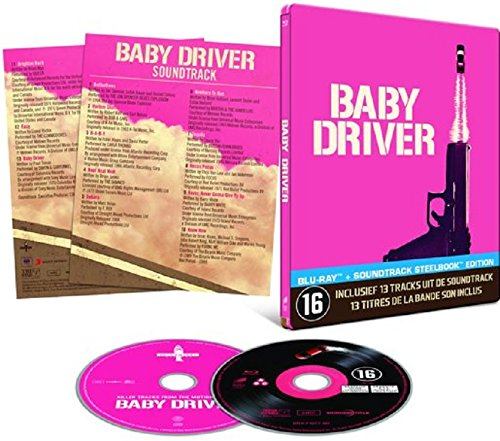 Baby Driver -Steelbook [Edizione: Paesi Bassi]