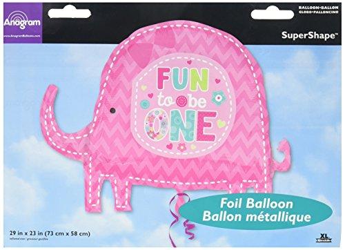 amscan Super/Form One Wild Girl Ballon