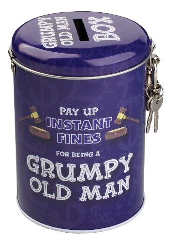 Instant Fines Tin - Grumpy Old Man - Geldbußen für alte Kauze