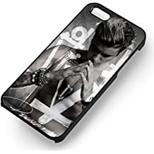 Justin Bieber Purpose - zd for Funda iphone 6 and Funda iphone 6s cover (negro PC Hard cover)