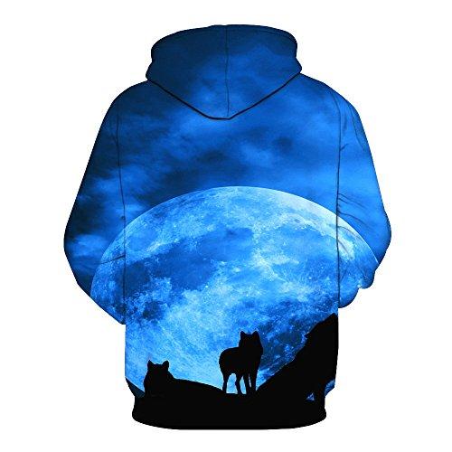 VêTements Femme Hommes Kangrunmy Blouse NoëL à Capuche Mens Jumper Unisexe ImpriméS 3D Pull Hoodies Santa Sweatshirts Poches Xms Capuche Clothes Tops Sweatshirt A