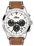 s.Oliver Time Herren-Armbanduhr SO-3335-LC