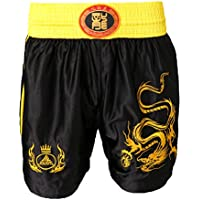 FLAMEER MMA Boxing Trunks Combat Fight Shorts Sanda Muay Thai Grappling Pantalones De Boxeo