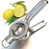 Il Miglior Spremi Limone - Spremi Limone e Lime in Acciaio Inox di Qualità Premium - Spremiagrumi a Pressione Manuale di Tipo Commerciale - 100% di Soddisfazione Garantita!