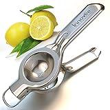 Innovee Home spremiagrumi spremi limone–acciaio inox 18/10di qualità con limone Recipes e-book