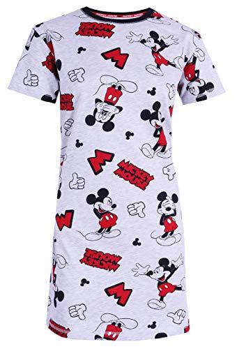 Camisón Gris y Rojo Minnie Mouse Disney M