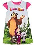 Masha and the Bear Camisón para Niñas Masha y el Oso 3-4 Años