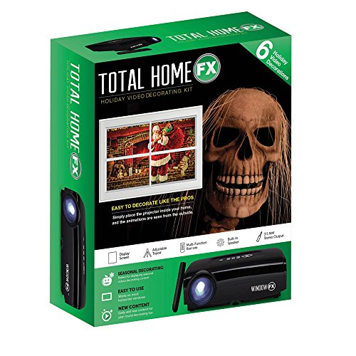 Total HomeFX Digital-Projektor-Dekorationsset Mini-Set -