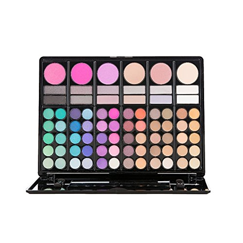 78 color make Up Set bforly portátil paleta sombra