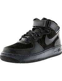 Nike Air Force 1 Mid (gs) Schuhe Gel Dynastie-violet Blanc-violet - 38,5