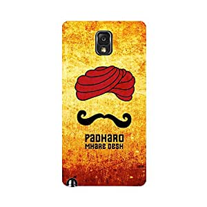 Digi Fashion Designer Back Cover with direct 3D sublimation printing for Samsung Galaxy Note 3 N9000