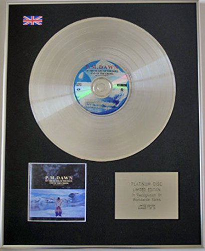 PM Dawn-Ltd CD Platinum Disc-of the Heart of the Soul