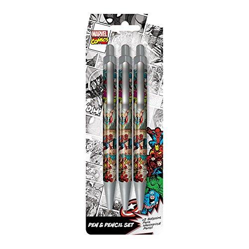 Marvel Comics Kugelschreiber & Bleistift Set