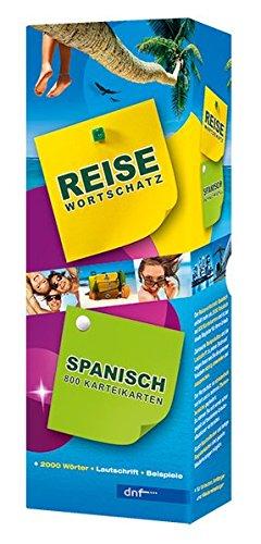 Karteikarten Reisewortschatz Spanisch: Über 800 Karteikarten mit mehr als 2000 Stichwörtern und Beispielsätzen