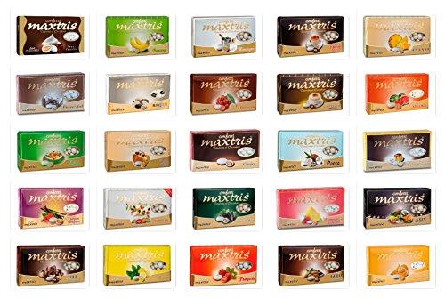 Confetti Maxtris Kit da 10 Kg. per Confettata o Bomboniere 10 GUSTI diversi
