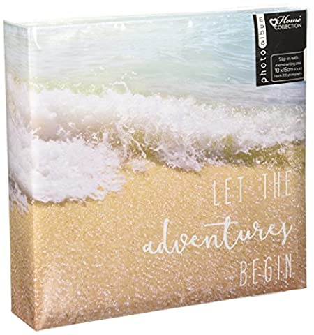Anker Travel/Holiday Destinations/Memory Photo/Picture Album with Memo Writing Area and Decorative Travel Design on Front to Fit 200 4 x 6-Inch
