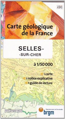 Carte géologique : Selles-sur-Cher par Cartes BRGM