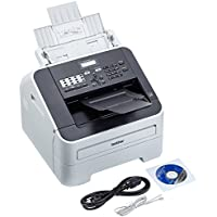 Brother FAX-2840 - Fax láser Monocromo de Alta Velocidad con función de Copia