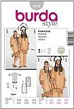 Burda Patrón 5815 Carnaval Disfraz de indio, disfraces adaptables