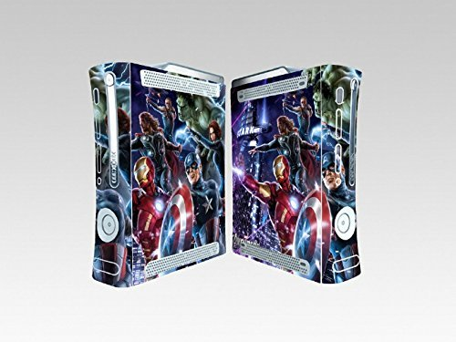 Avengers 260 Vinyl Skin Sticker Cover Protector for XBOX 360 Original Console by Cool Colour