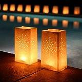 Pack de 10 Bolsas de luz (luminarias) - Candle bags