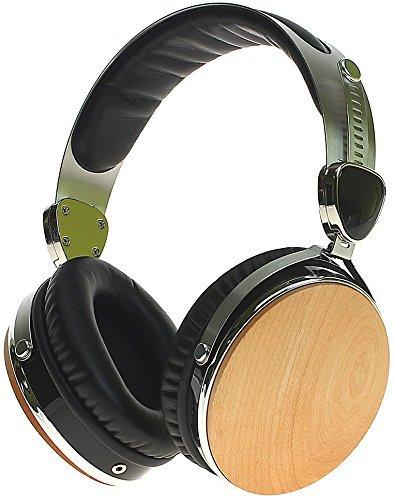 Symphonized Wraith 2.0 Premium Kopfhörer Over-The-Ear Lärmreduzierende aus edlem Holz mit Mikrofon (Ahorn)