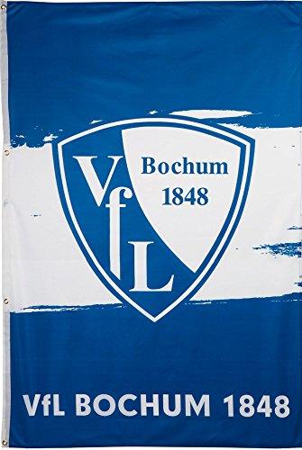 Hissflagge VfL Bochum 1848 - 120 x 180 cm + gratis Aufkleber, Flaggenfritze®