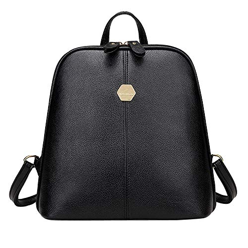 YWLINK Damen Retro Klassisch PU Rucksack Mode Reisetasche Schultasche Schultertaschen Schulrucksack Daypacks BüRotasche
