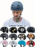 Skullcap BMX Helm - Skaterhelm - Fahrradhelm - Herren | Damen | Jungs & Kinderhelm Gr. L (58 – 61 cm), Crack NextLevel