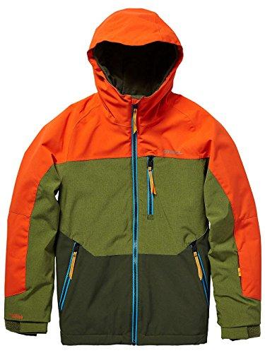 O'Neill Jungen Kinder Snowboard Jacke Astron Jacket Boys, Bright orange, 176 Orange Snowboard-jacke
