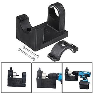 ChaRLes Positioning Bracket Double Head Bracket Metal Nibbler Cutter Holder for Power Tool