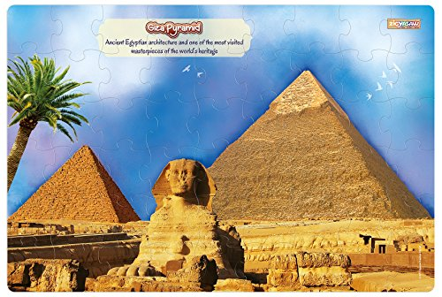 Zigyasaw Giza Pyramid Premium Giant Floor Puzzle Game | Creative Challenging Puzzles for Kids(Above 3 Years)