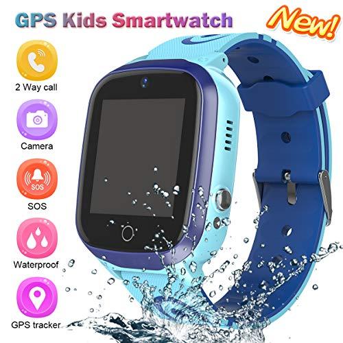 GPS Smartwatch, Reloj Impermeable NiñOs Reloj Inteligente