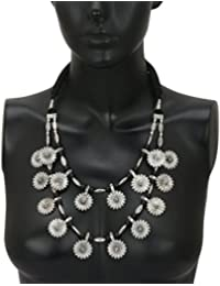Dudi's Silver Beautiful (Neck Cover) Long Necklace For Women
