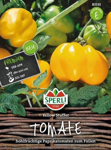 Tomaten Yellow Stuffer (Tomatenpaprika)