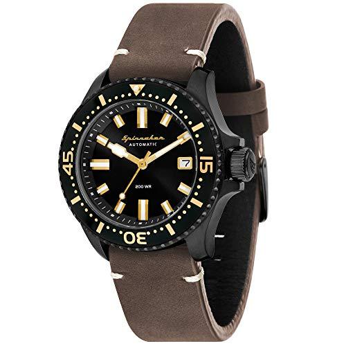 Spinnaker Homme Uhr Analogique QUARTZ mit Métal Armband SP-5039-05