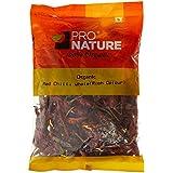 Pro Nature Organic Red Chilli Whole Rich Colour,100g