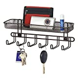 Best MetroDecor Eyeglasses - mDesign Wall Mount Entryway Organiser for Keys, Hats Review
