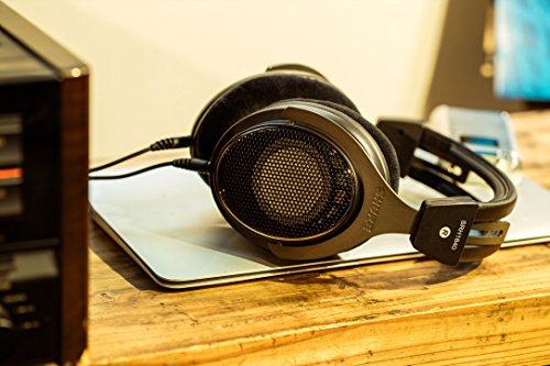 Shure SRH1840, offener Kopfhörer / Over-ear, schwarz/silber, High-End, geräuschunterdrückend, Kabel austauschbar, Velourpolster, natürlicher Klang, erweiterte Höhen, akkurater Bass, gematchte Wandler - 13