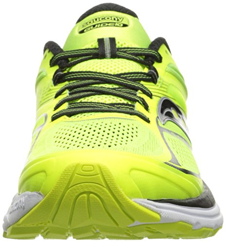 Saucony Guide 10, Running Homme Gelb (Citron/Black)