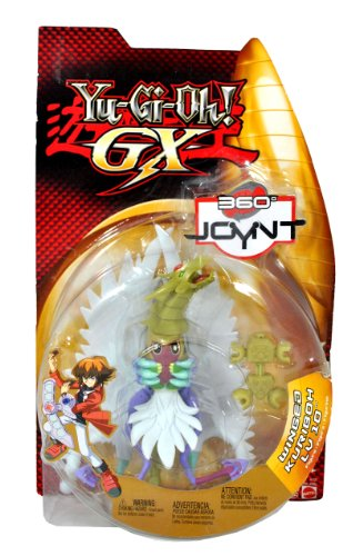 """Mattel Year 2005 Yu-Gi-Oh! GX 360 Joynt Series 6-1/2 Inch Tall Action Figure - LV10 WINGED KURIBOH with """"Pop a Part Arm and Legs"""" Feature by Yu-Gi-Oh!"""