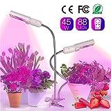Relassy 45W Lampe pour Plante, 88 LED Lampe de Croissance...