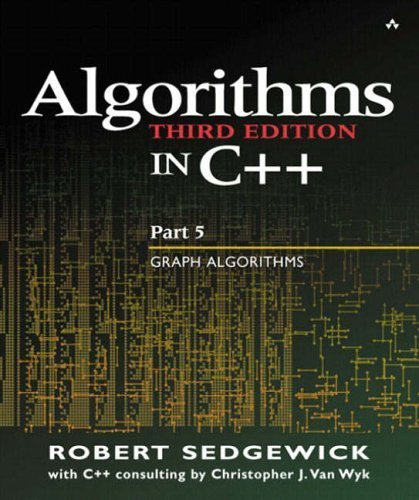 Algorithms in C, Parts 1-5 (Bundle): Fundamentals, Data Structures, Sorting, Searching, and Graph Algorithms (3rd Edition) 3rd by Sedgewick, Robert (2001) Paperback
