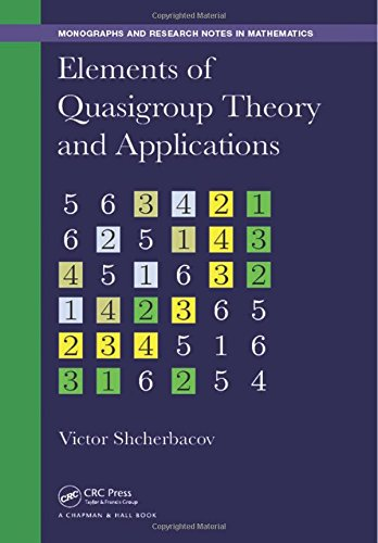 Elements of Quasigroup Theory and Applications (Chapman & Hall/CRC Monographs and Research Notes in Mathematics)