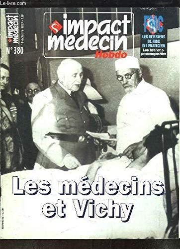 IMPACT MEDECIN HEBDO - N°387 - 28 novembre 1997 / le sida au féminin / toxicologie : les agriculteurs malades des pesticides / responsabilité médicale / Hépatite B: vacciner les enfants du monde... par COLLECTIF
